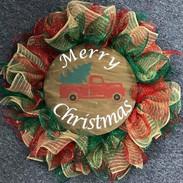 Merry Christmas Truck Wreath.jpg