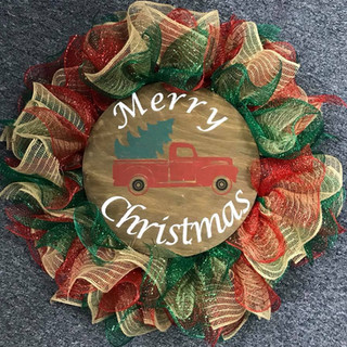 Merry Christmas Truck Wreath.jpg