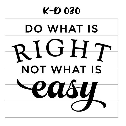K-D 030