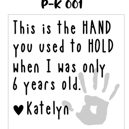 P-K 001