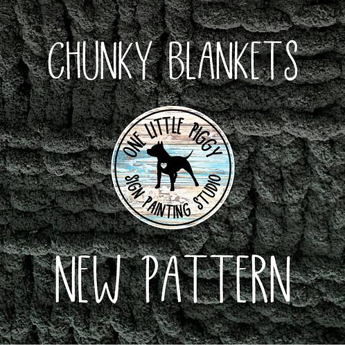 Intermediate Chunky Blanket 10-17