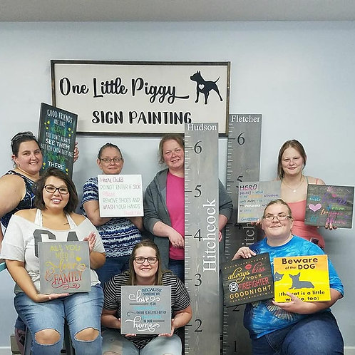 Lacey's Sign Party February 16th