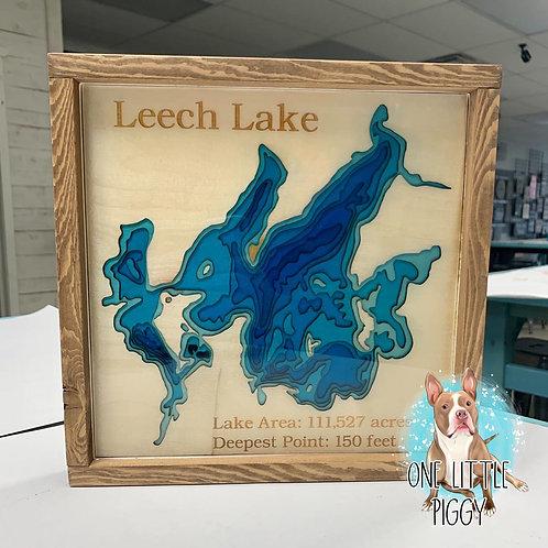 Pine Mountain Lake Map for Kellie