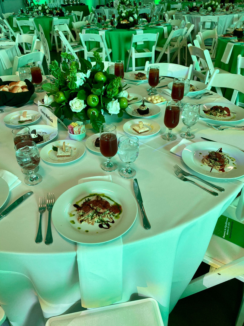 Girls Scouts Luncheon for 800  Tablescape Creative Design: Taylor Demartino & Mark Del Monaco  Catering: Jim Benton of Houston