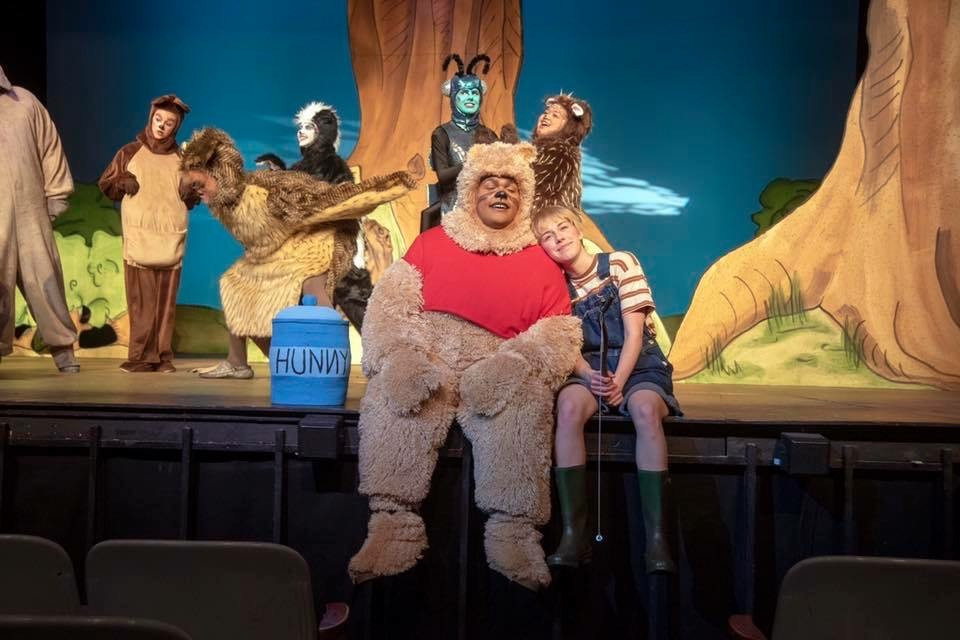 """""""Winnie the Pooh"""" at Ball State, 2019"""