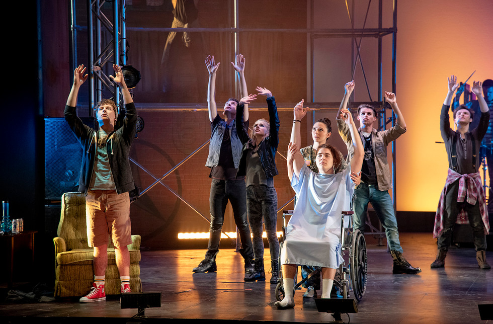 """""""American Idiot"""" at Ball State, 2018"""