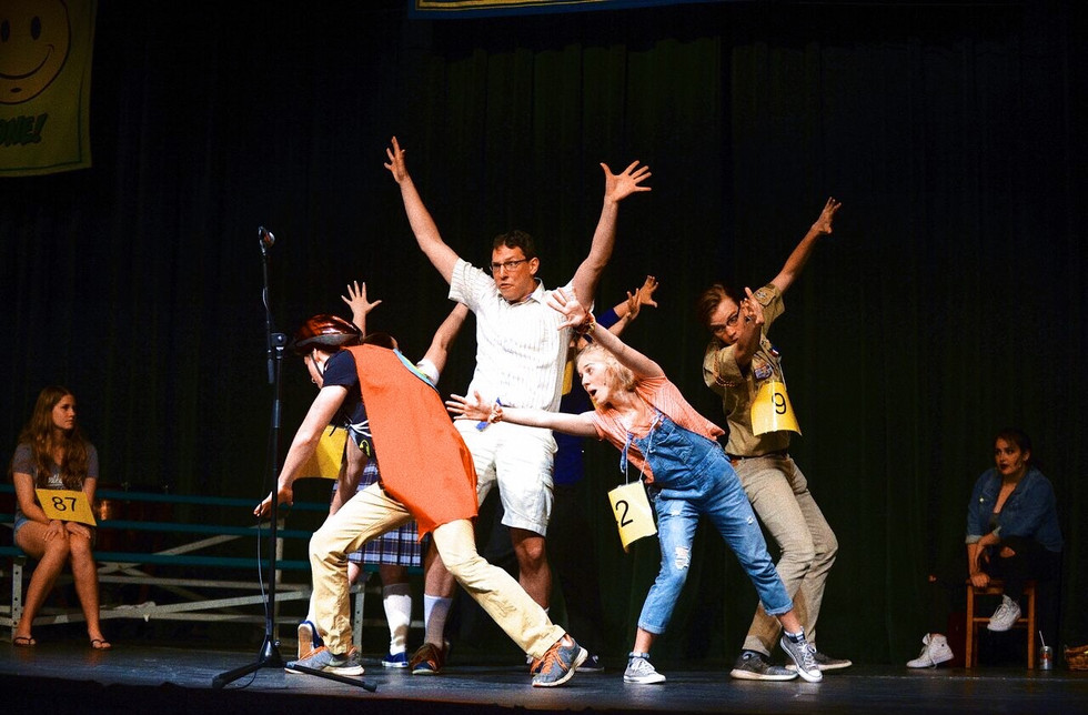 """""""The 25th Annual Putnam County Spelling Bee"""" at Baker Auditorium, 2018"""