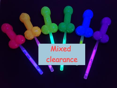 Clearance - Mix Dozen Glowpop $10