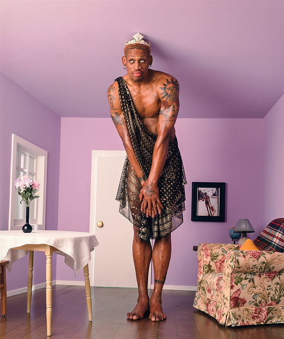 Dennis-Rodman-george-lange-photographer-
