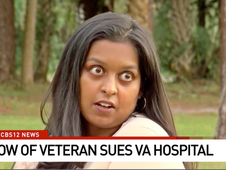 Widow filing Wrongful Death Claim against VA speaks out