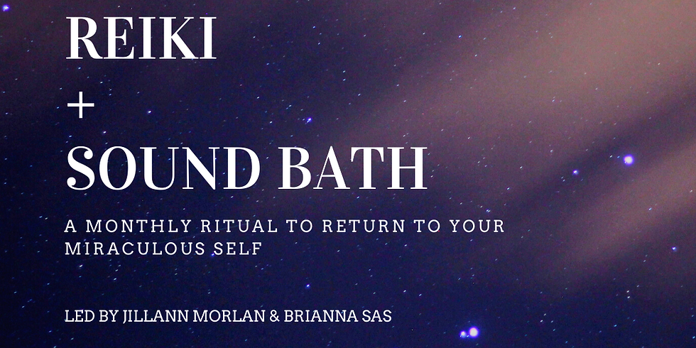 Reiki + Sound Bath