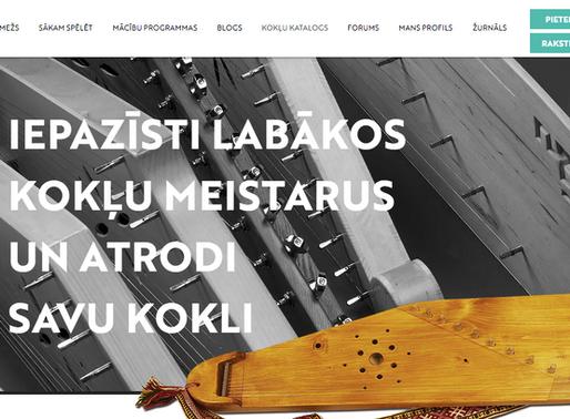 Pirmais kokļu katalogs Latvijā
