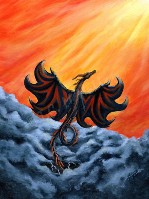 Liberation Dragon Print
