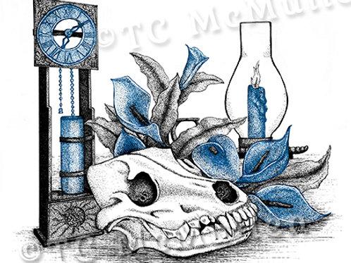 """Time 2"" Ink Print"