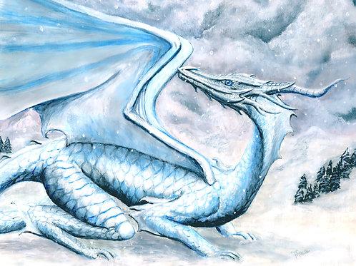 Serenity Dragon print
