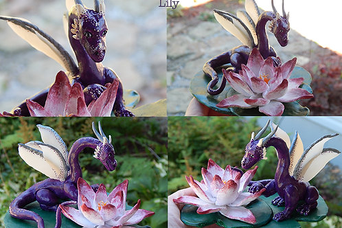 Commission a Holiday or Scene Dragon Sculpture