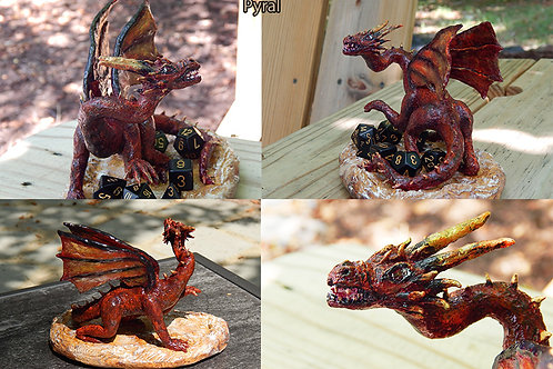Commission a King Dragon Sculpture