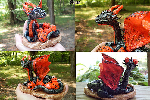 Commission a Medium Dragon Sculpture