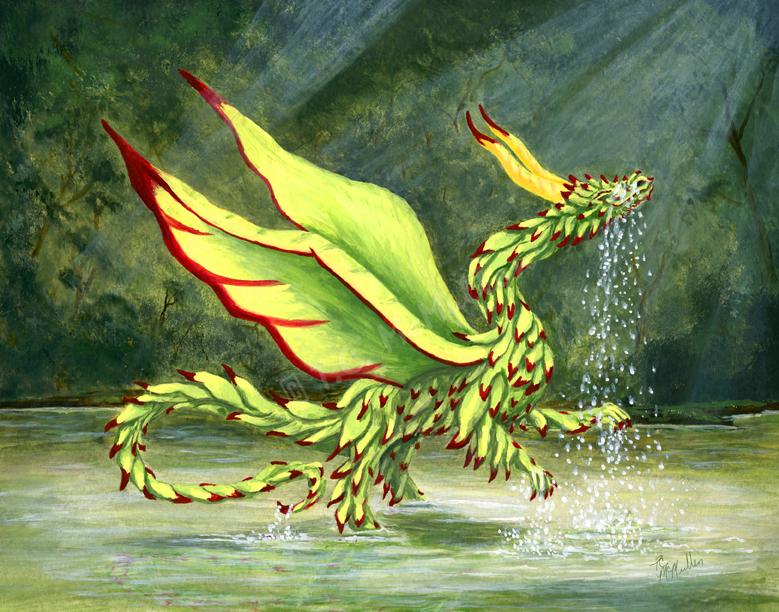 Wispy Dragon