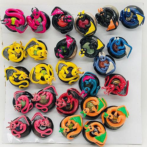 Dragon bead magnets