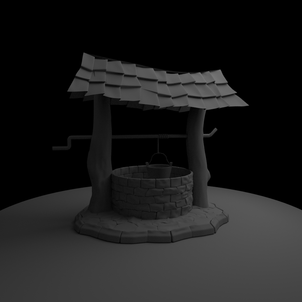 High Poly Well