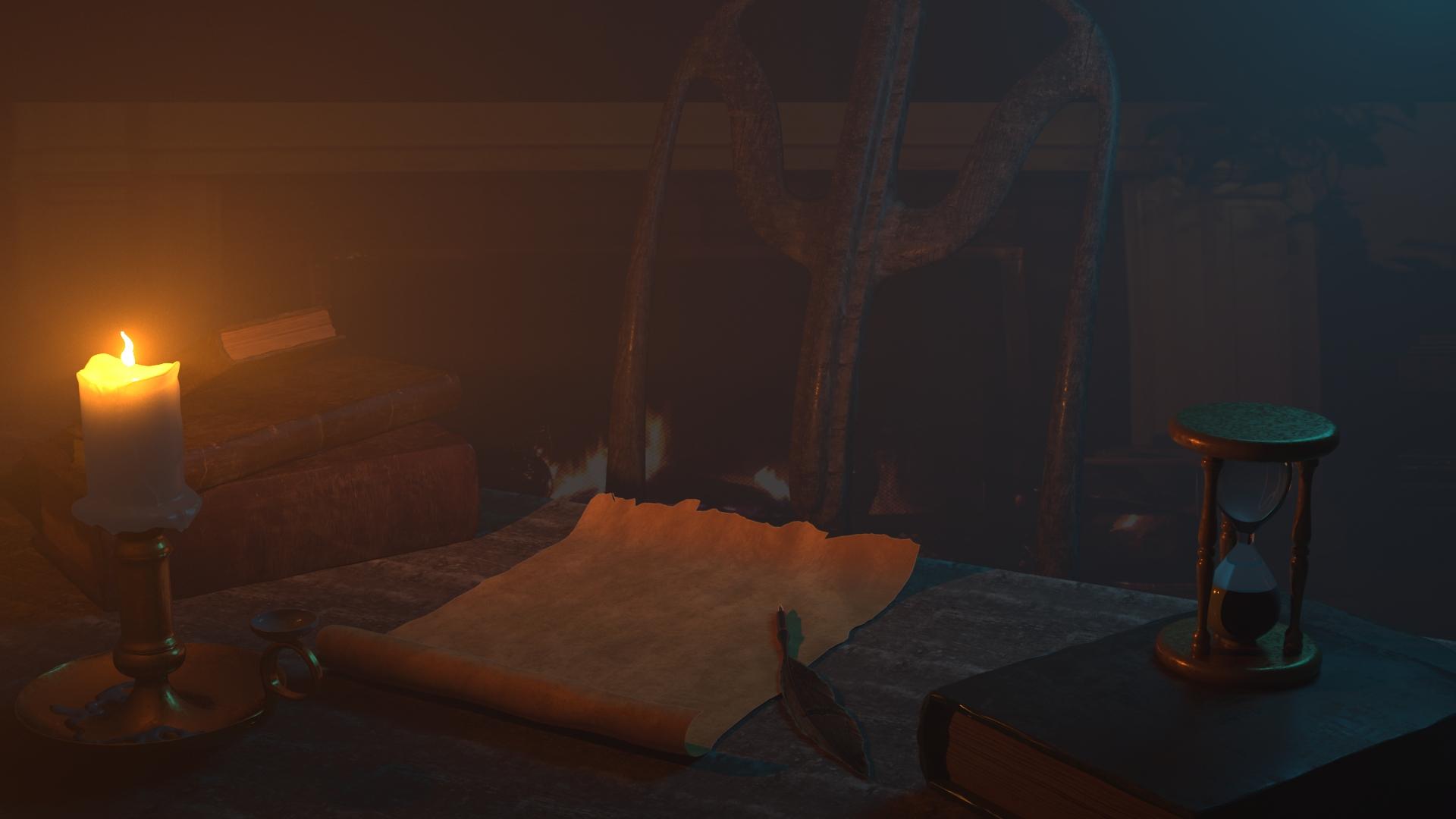 Ancient Desk