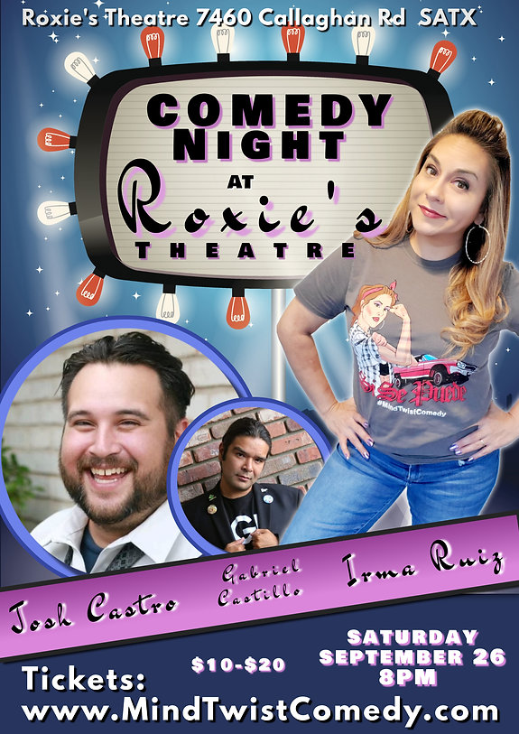 Copy of Stand up Comedy Night Show Flyer