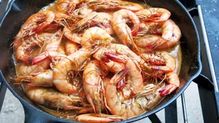 Favorite Dish: Cajun Barbecued Shrimp