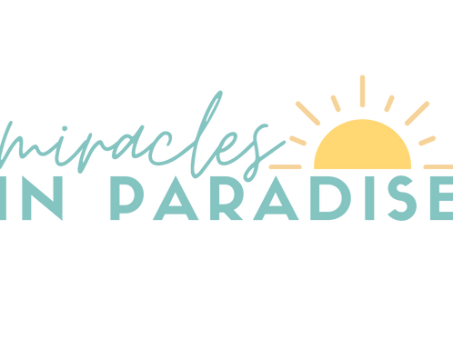Miracles in Paradise Sticker