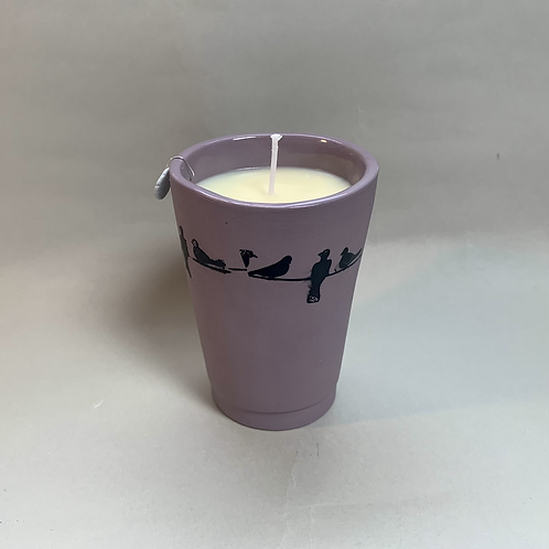 Sweet Orange and Lavender Essential Oil Candle