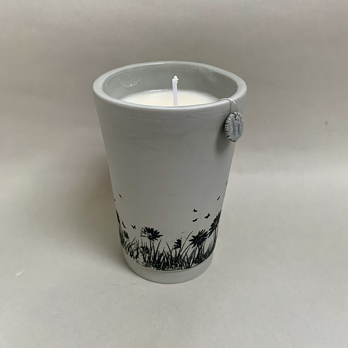 Lavender and Rosemary Essential Oil Candle