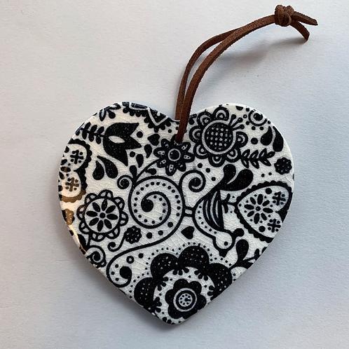 Ceramic Decal Heart