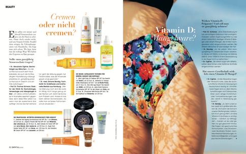 Sonnenschutz & Vitamin D Mangel