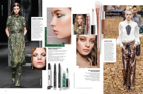 Make-up Trend: Metallic Make-up