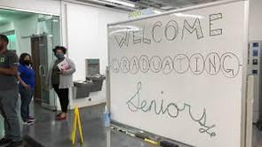 Graduates at Booker T. Washington High School get hi-tech donation