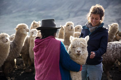 Margot with alpaca and farmer.jpg