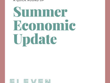 Summer Economic Update