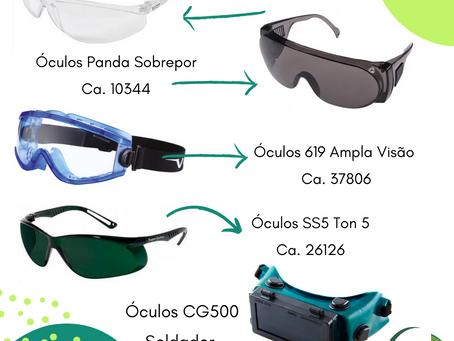 Óculos de proteção, como escolher?