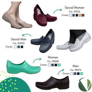 Calçados Antiderrapantes Sticky Shoes