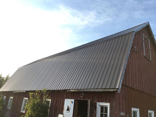 metal roof barn