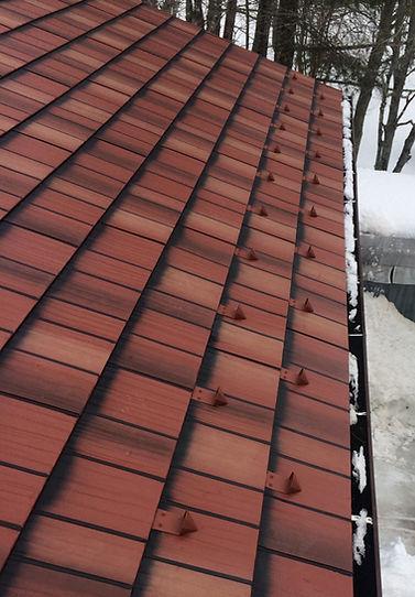 roofing metal slate truro