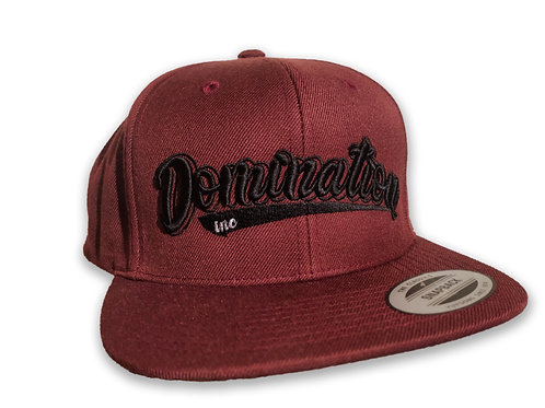 """Domination Inc. Red Cap """"DxNx"""""""