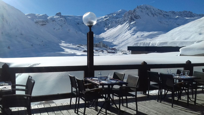 Terrasse sud Le Bagus Café