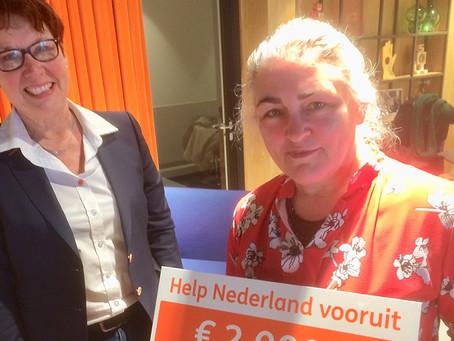 Actie Help Nederland Vooruit