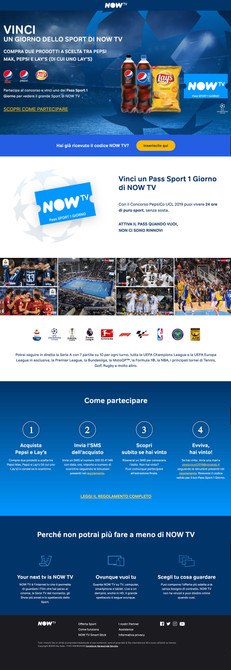 Promo Now TV Pepsi+Lays
