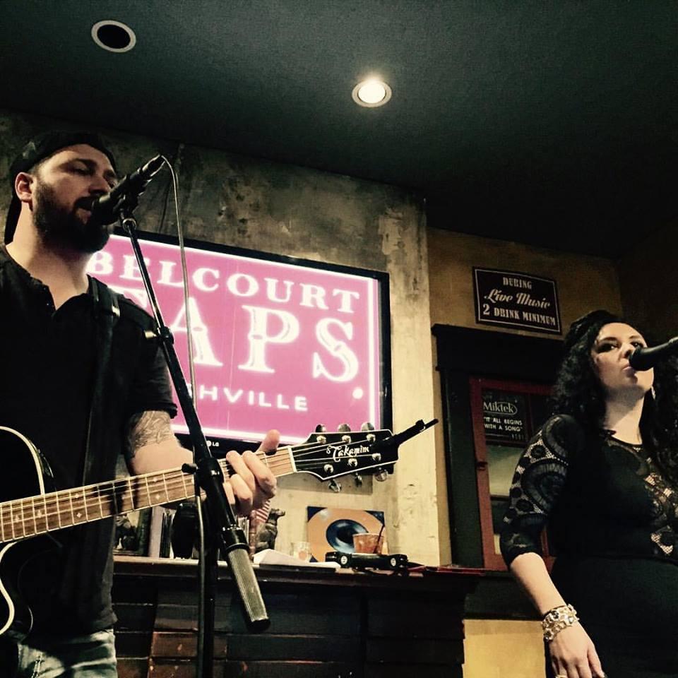 Gig at Belcourt Taps, Nashville with Derek