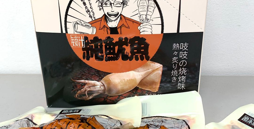 渔家翁 锁汁纯鱿鱼 烧烤味 20包入