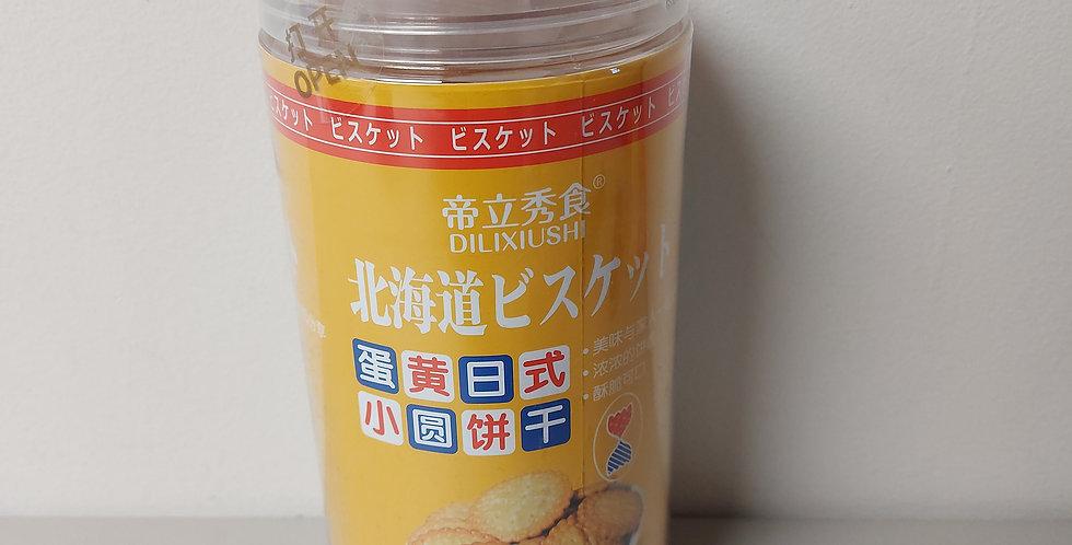 北海道 日式小圆饼干 咸蛋黄味  228g