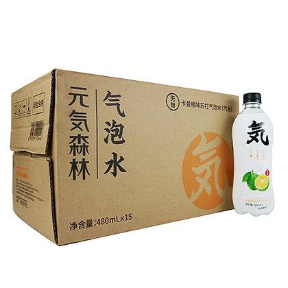 元气森林卡曼橘味整箱装(15瓶)