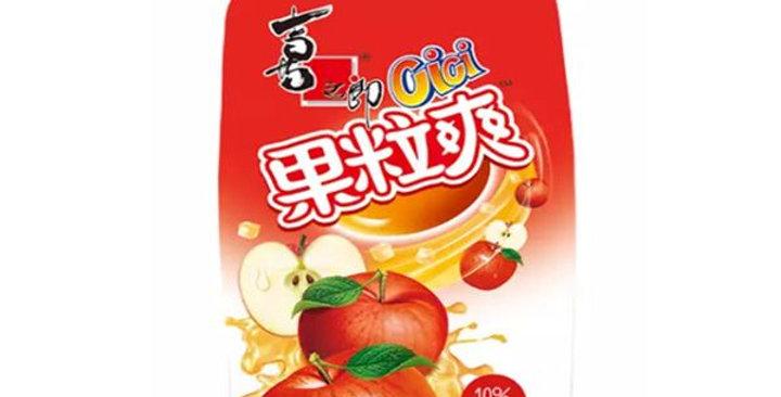 喜之郎 果粒爽 苹果味350ml